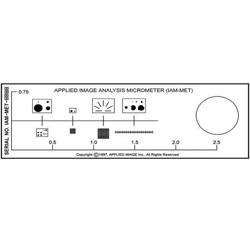 multiple morphology calibration standard ASTM