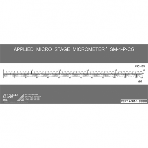 5 inch precision stage micrometer 5 in scale