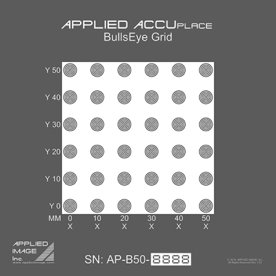 ACCUplace BullsEye /Recognition Grid (AP-B)