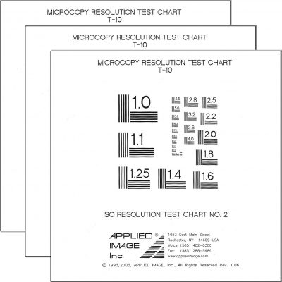 ISO Test Charts
