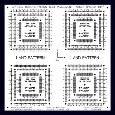 ACCU-PLACE Land Pattern Plate (APLP-1)