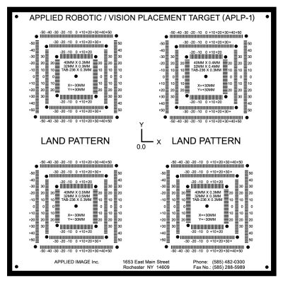ACCU-PLACE Land Pattern Kit (APKIT-1)