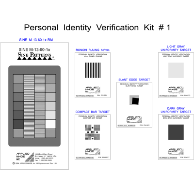 Personal Identity Verification Kits for Single Fingerprint Capture Devices