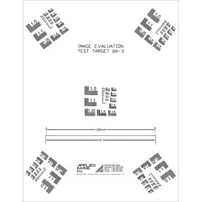 Small Area Target / AIIM MS-303-1980 (QA-3)
