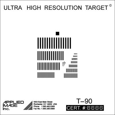 Ultra-High Resolution Target (T-90)