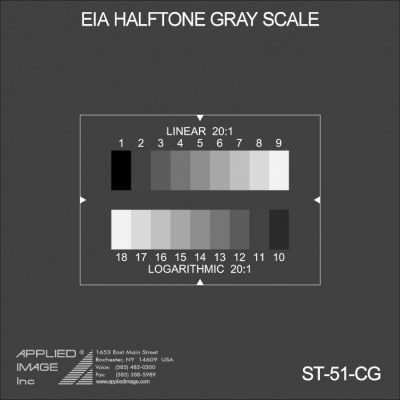EIA Halftone Gray Scale Chart (ST-51)