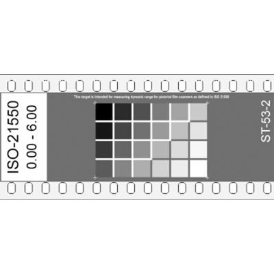 ISO-21550 Dynamic Range Film Target (ST-53)