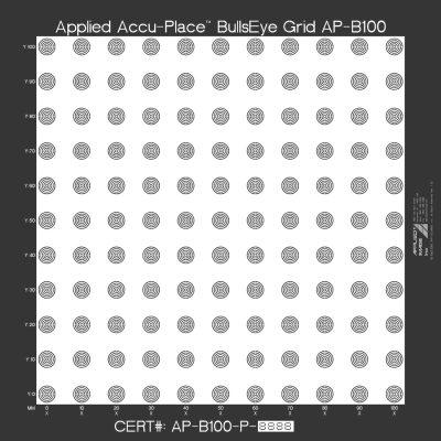 ACCU-PLACE BullsEye /Recongnition Grid (AP-B)