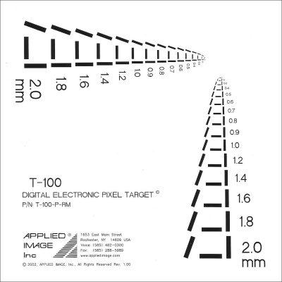 Digital / Electronic Pixel Target (T-100)