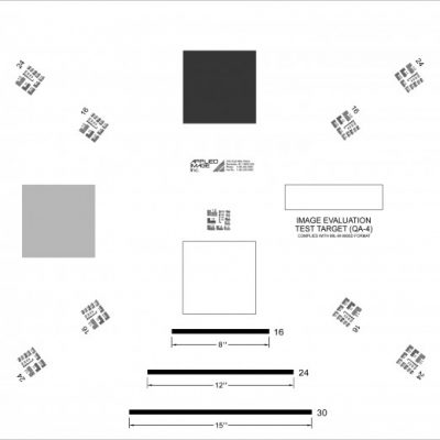 Large Area Target / ANSI/AIIM MS-24-1980 R1987 (QA-4)