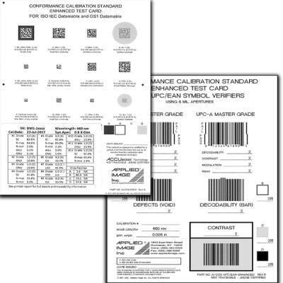 Barcode Conformance Calibration Standards